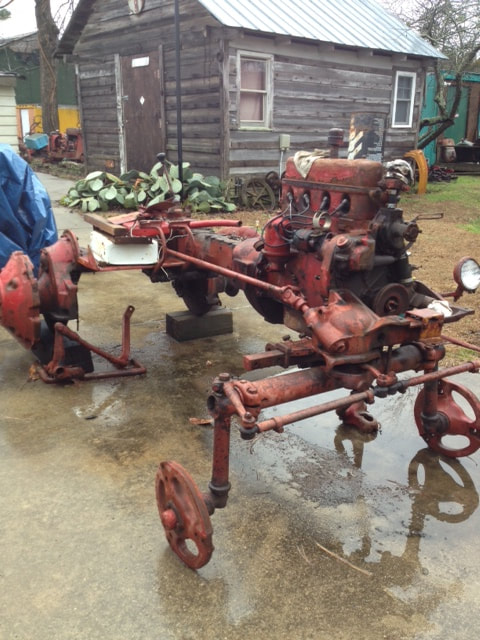 farmall 100 used tractor parts  this tractor has been disassembled