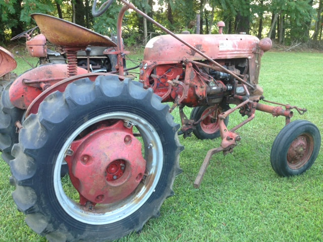 Farmall Tractor Parts Salvage : Used parts tractor list dufour